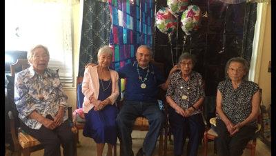 Elderly Sitting